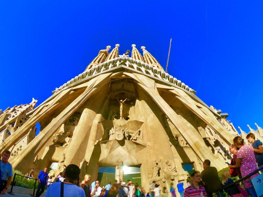 バルセロナ観光したい!サグラダファミリアのバックサイド
