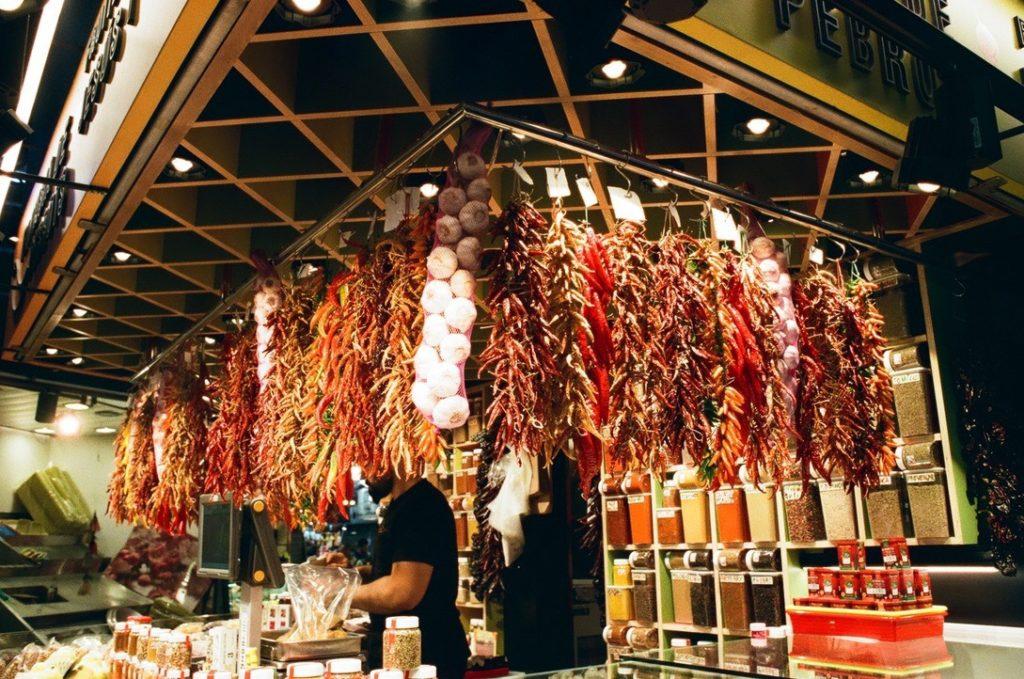 サンジュセップ市場で買うスパイス
