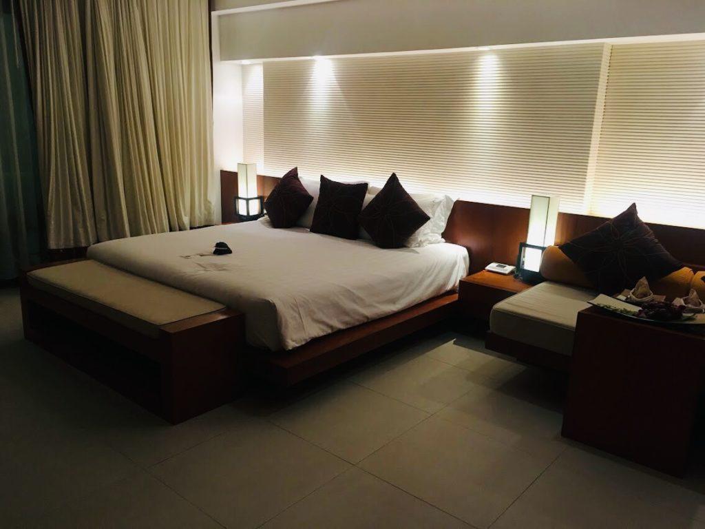 ラ・フローラのベッドルーム