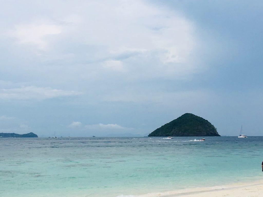 プーケットのモデルコースコーラル島