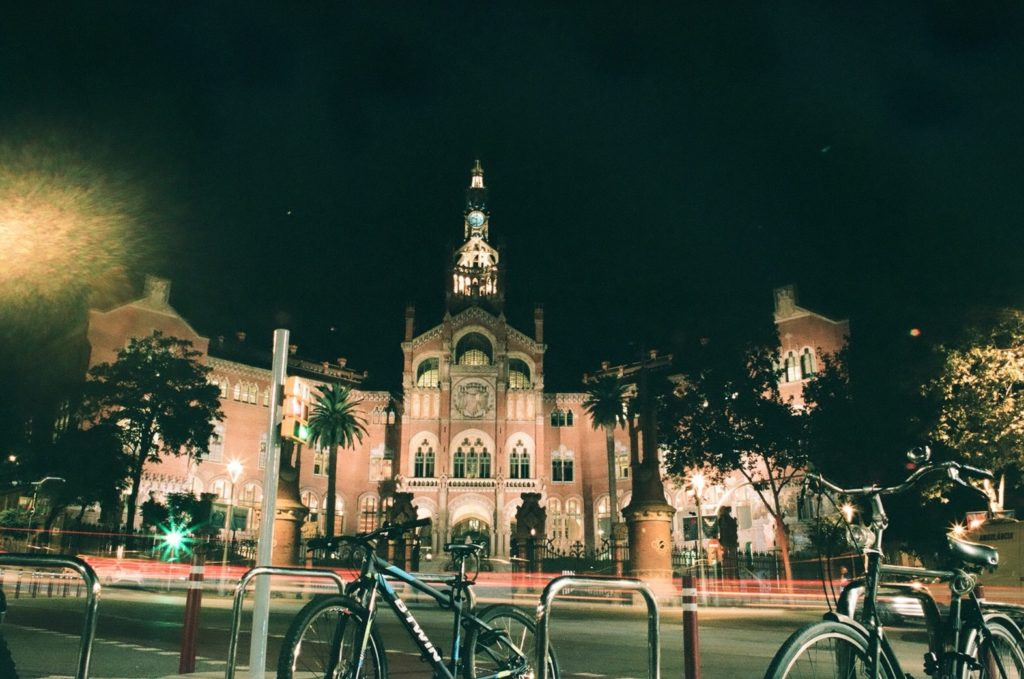 サンパウ病院のライトアップ観光
