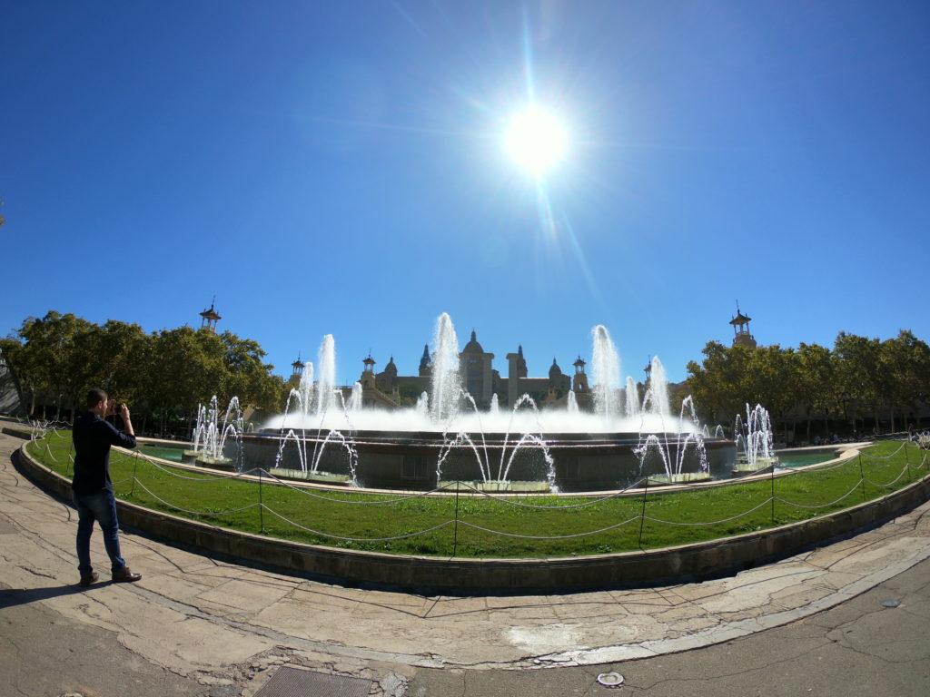 バルセロナのモンジュイック観光!マジカ噴水