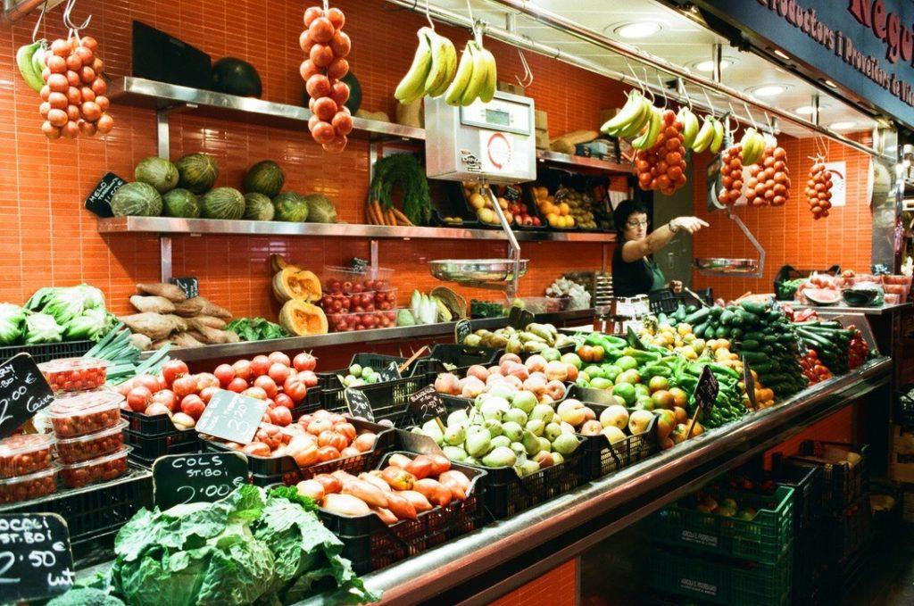 サンジュセップ市場の野菜