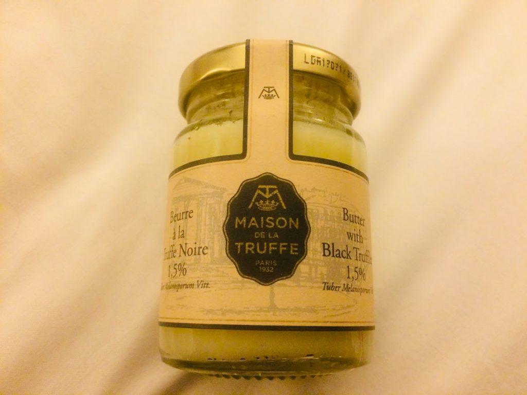 高級スーパーマーケット「ラ グランド エピスリー ド パリ」のトリュフバター