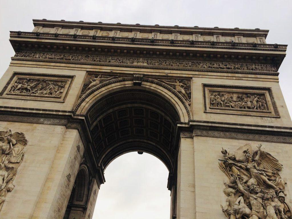 パリ旅行のモデルコース凱旋門