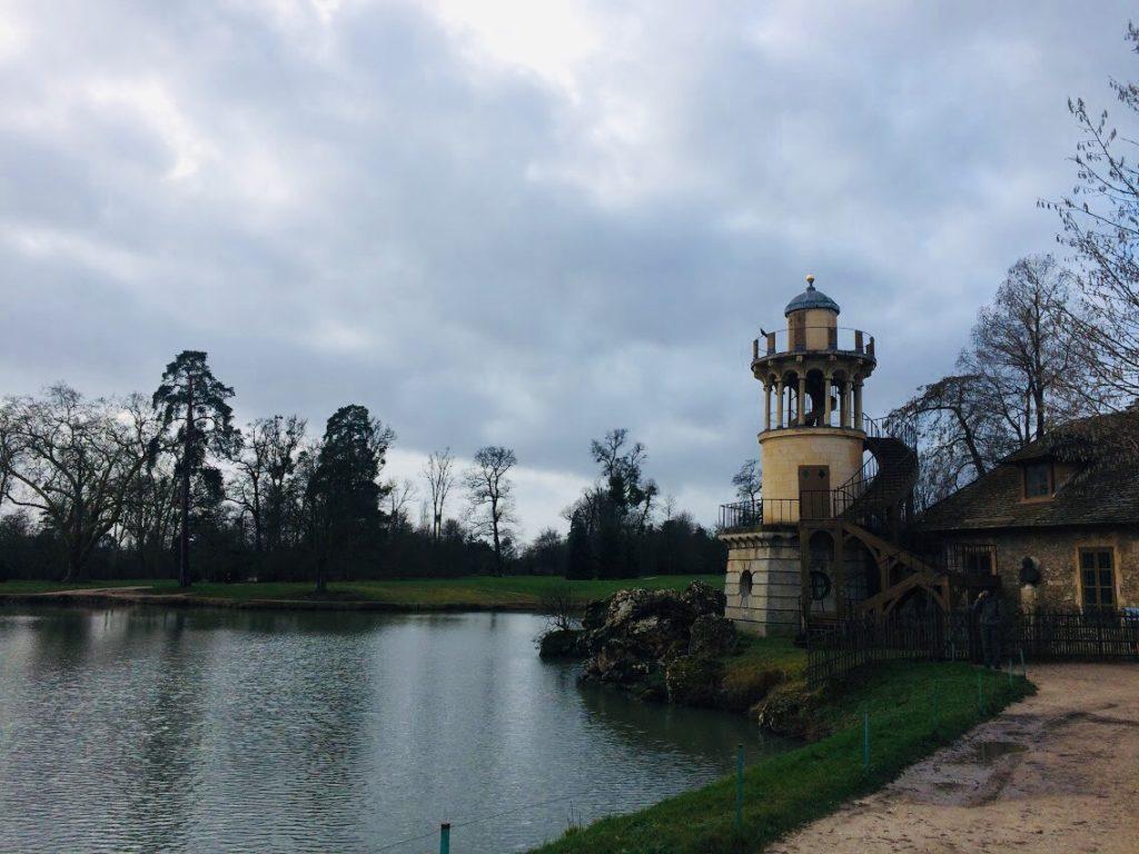 ヴェルサイユ宮殿の離れを観光