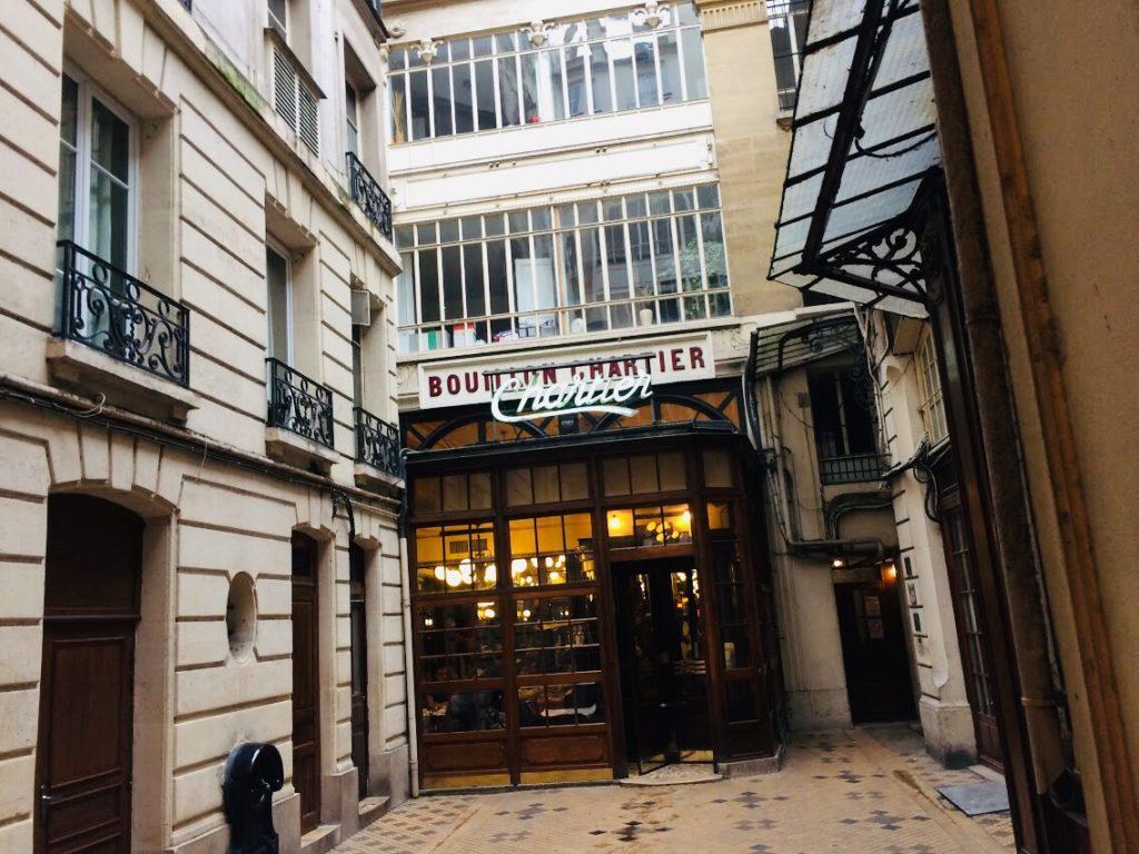 パリの大衆食堂レストランシャルティエはおすすめ