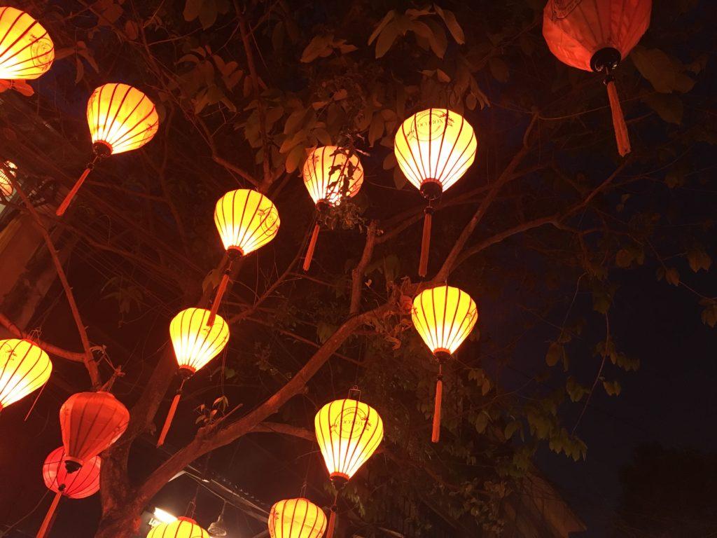ホイアン観光の夜