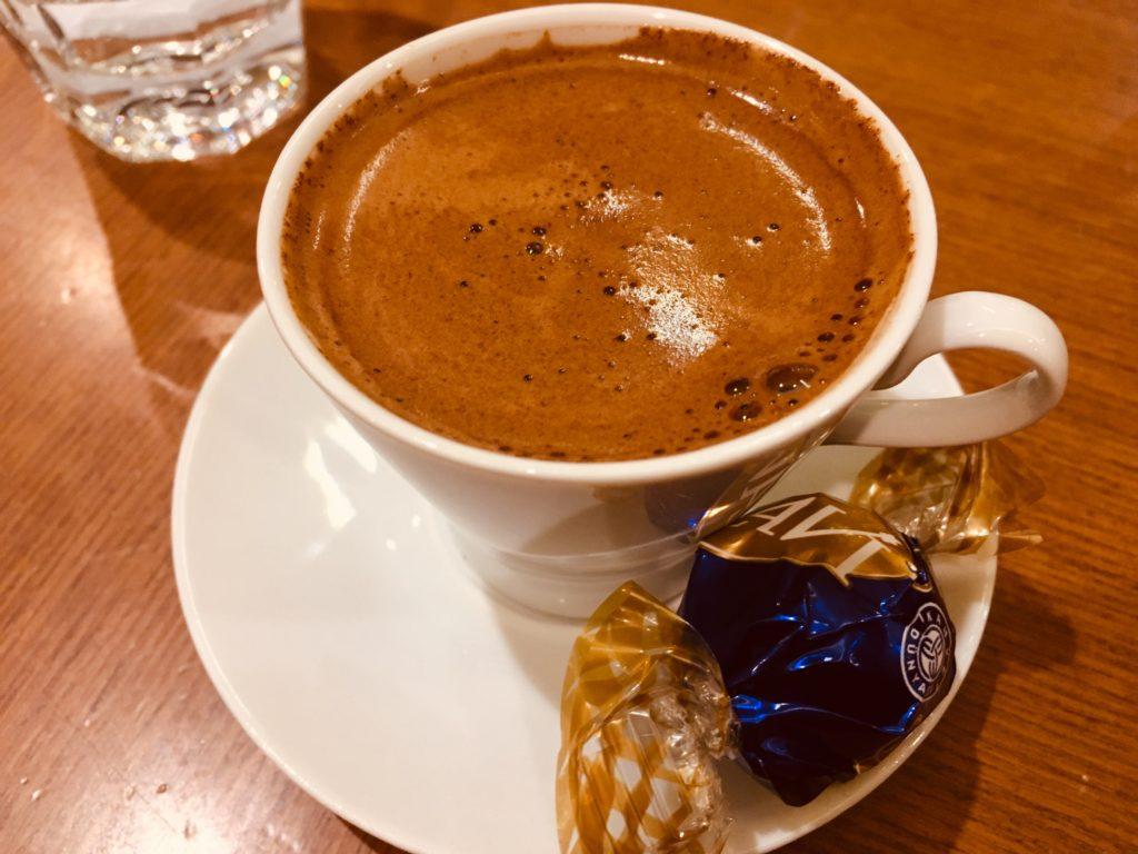 デニズリ観光で飲んだコーヒー