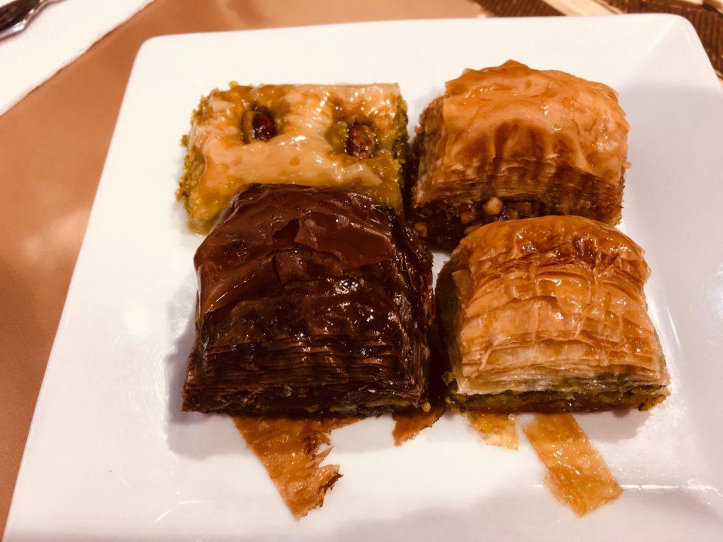 イスタンブールグルメ&レストランのバクラバ