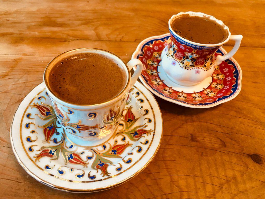 カッパドキア観光で飲むトルココーヒー