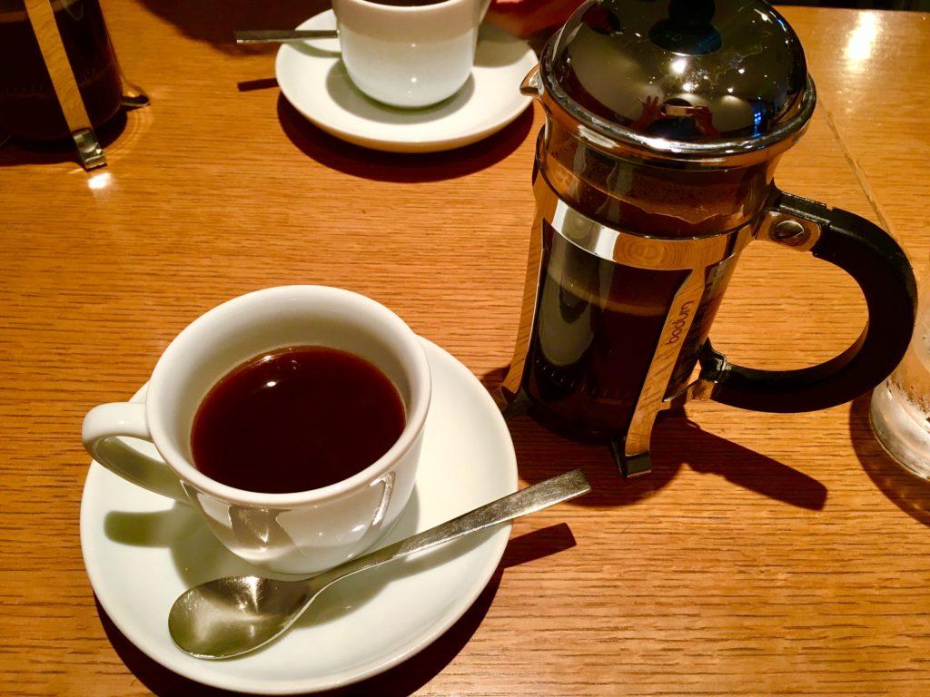 軽井沢のおすすめレストランの丸山珈琲