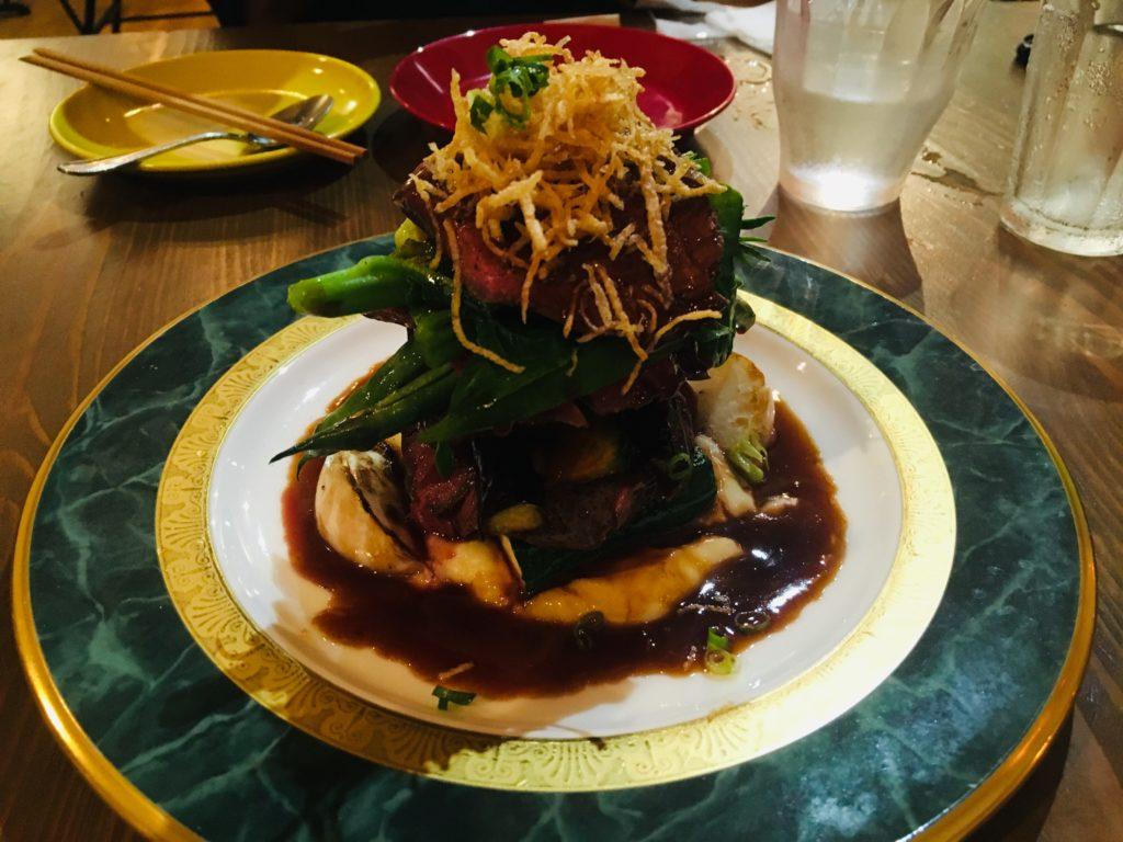 軽井沢のおすすめレストランベジビエのメイン