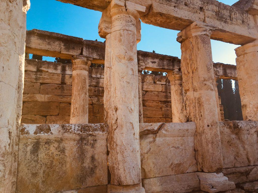 パムッカレ遺跡のローマ感!観光
