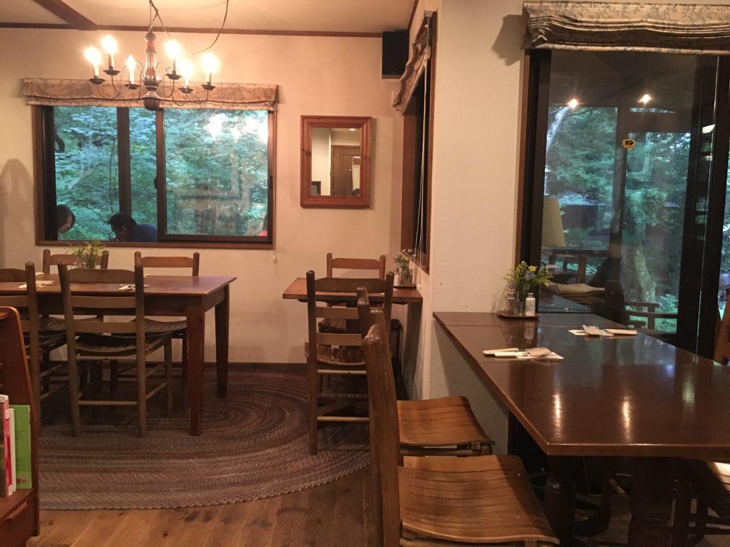 キャボットコーブの店内!軽井沢のおすすめカフェ朝食