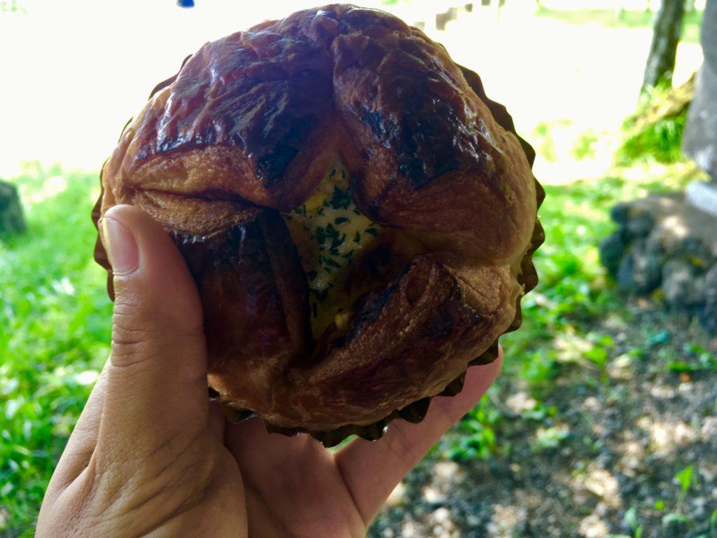 軽井沢のおすすめレストランのパン
