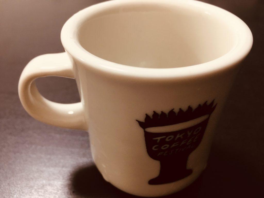 東京コーヒーフェスティバル!イベントのマグカップ
