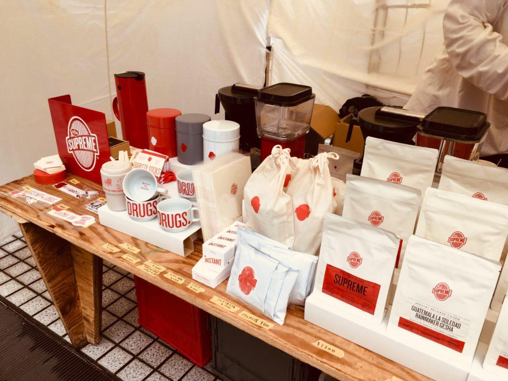 東京コーヒーフェスティバルのイベント出展COFFEE SUPREME