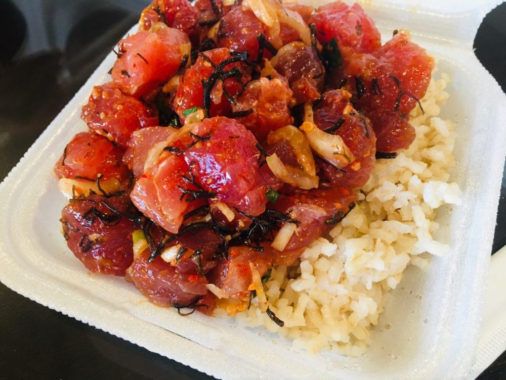 ハワイのおすすめポキ丼オノシーフード