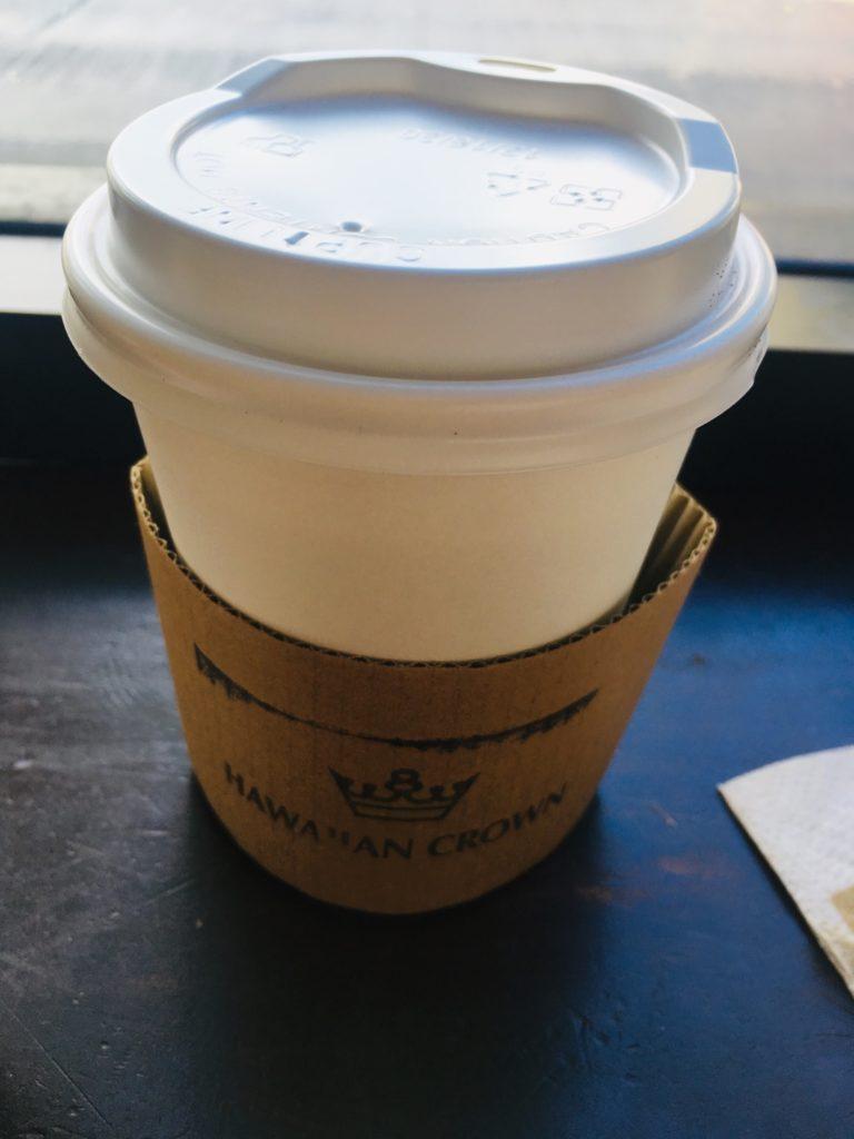 ハワイのおすすめアサイーボウル店のコーヒーは普通だった