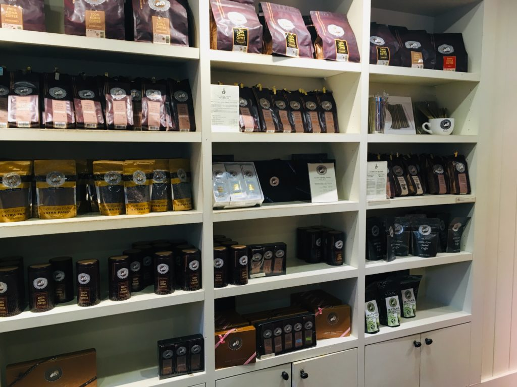ハワイのおすすめアサイーボウル店ではコーヒーのお土産も!
