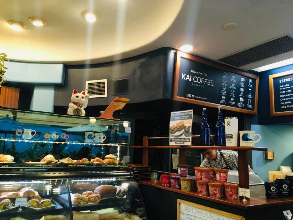ハワイのカイコーヒーではペストリーもおすすめ