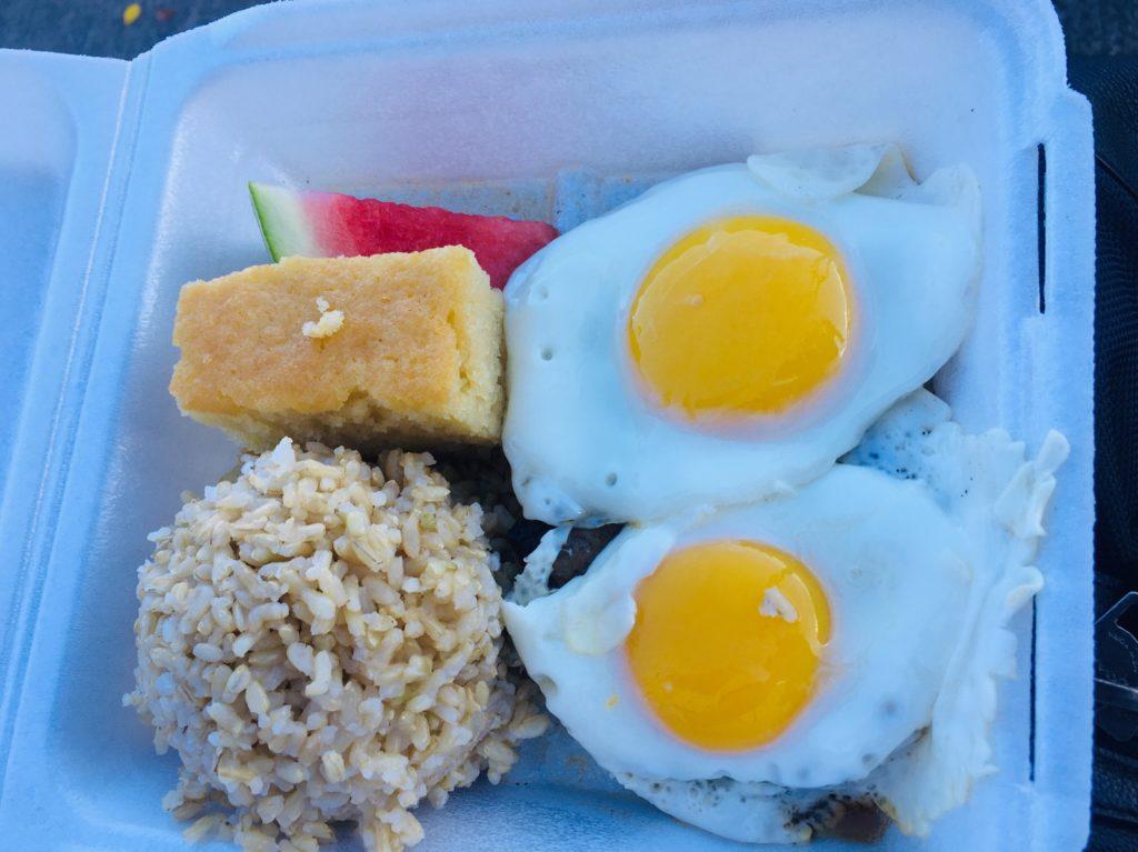ハワイのおすすめグルメプレートランチステーキ