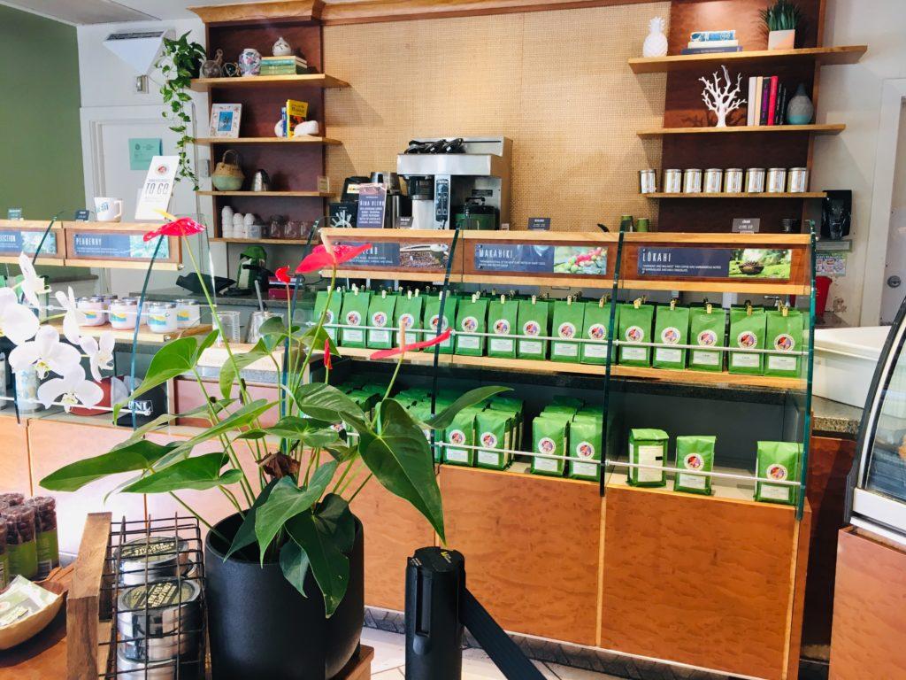 ハワイのホノルルコーヒーではお土産もおすすめ