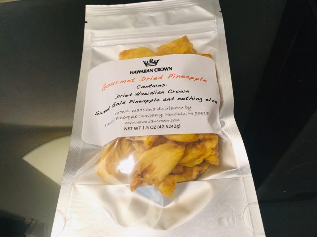 ハワイではドライパイナップルの小分けもおすすめのお土産