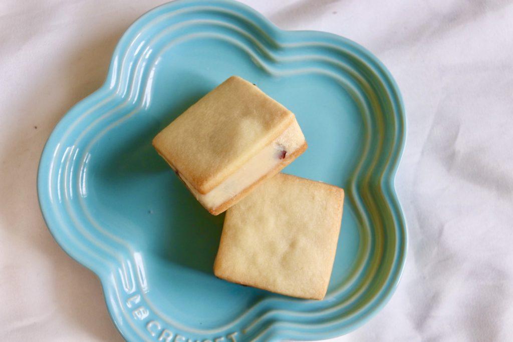 ゆめのおかしのバターサンドは濃厚で風味豊か