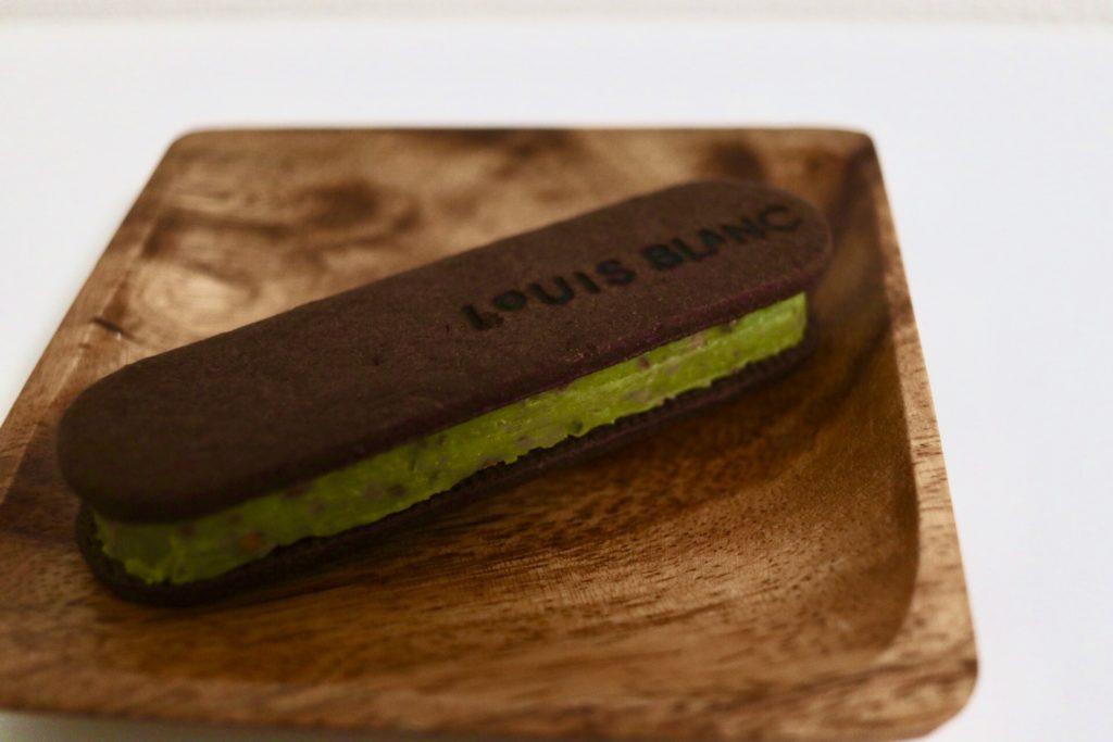 おすすめのお取り寄せチョコレート菓子2位ルイスブランピスタチオ味