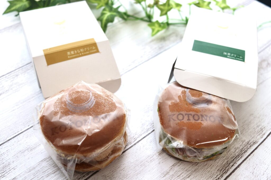 KOTONOWAのどら焼きはなめらかな葛餅と上品なクリーム