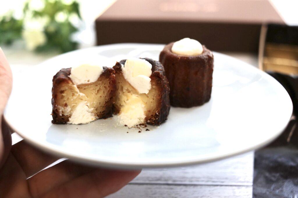 cake.jpのフローズンカヌレフロマージュ味